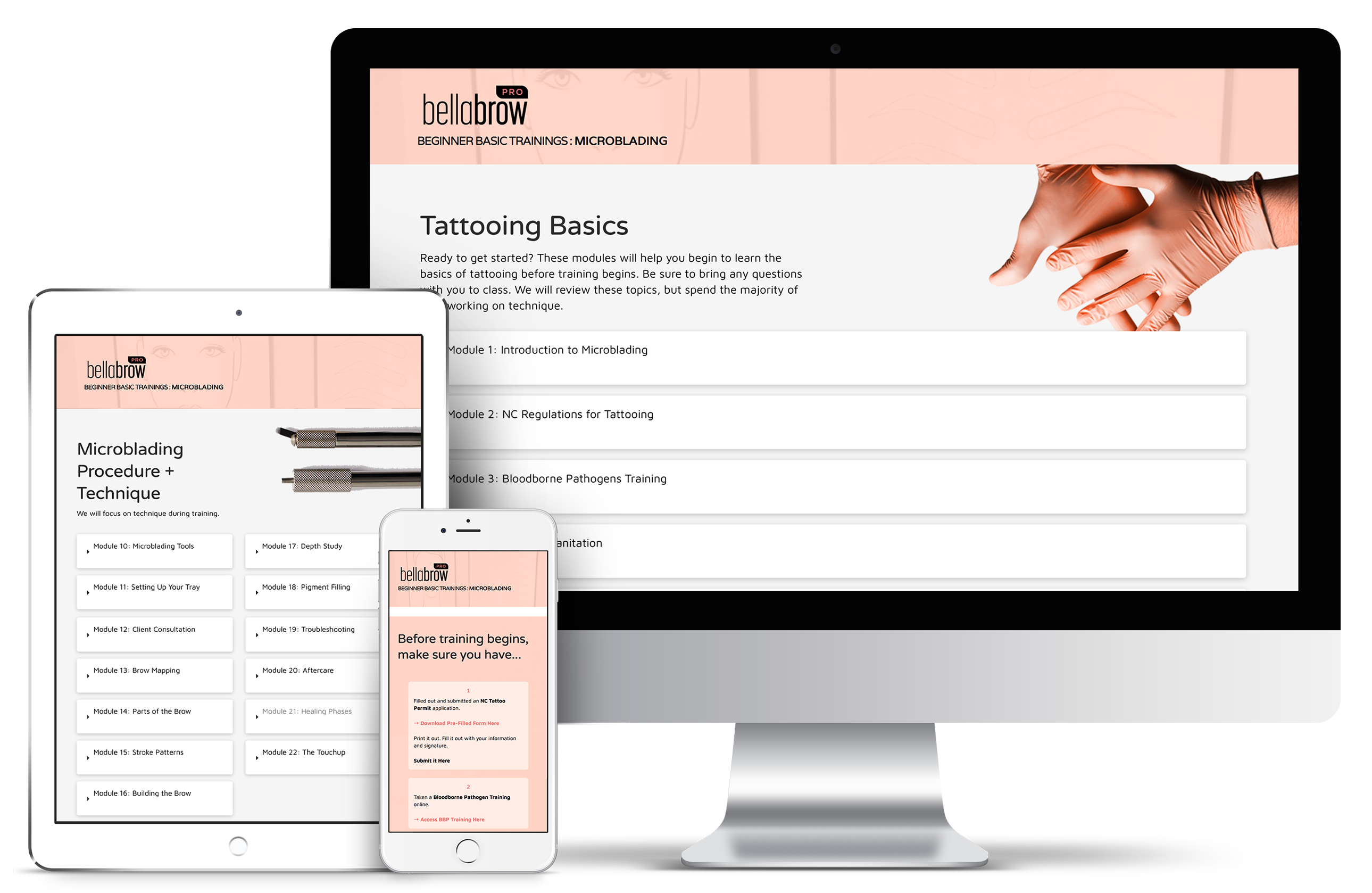 Training + Resources - Bellabrow Microblading